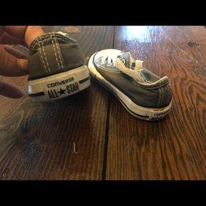 Baby 4c gray converse